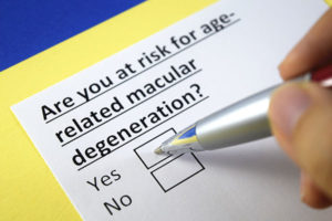 risk of age related macular degeneration AMD
